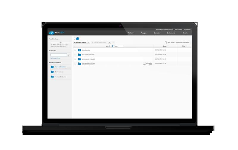 AstenSync : la solution pour partager et synchroniser des fichiers en ligne sur tous vos appareils
