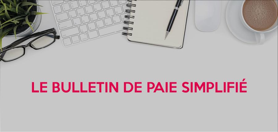 Bulletin de paie simplifié intégré à votre logiciel de paie Cegid