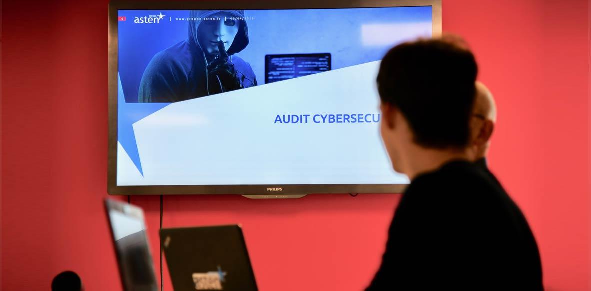 Audit de cybersécurité et tests d'intrusion avec le Groupe Asten